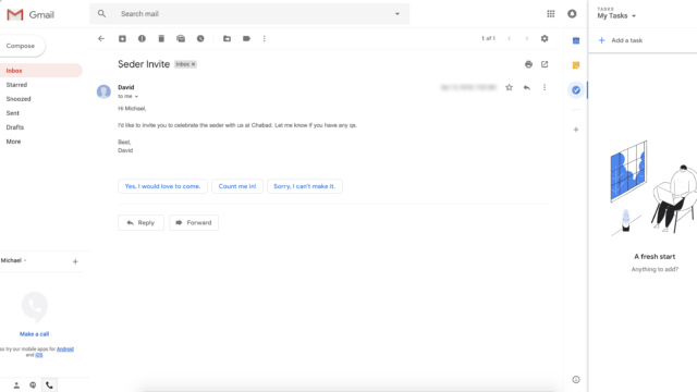 Here's what the new Gmail looks like