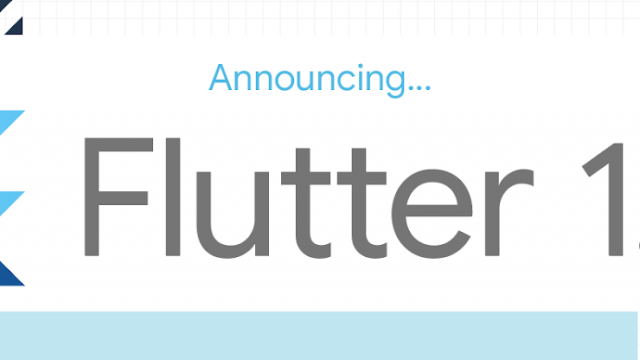 Google's cross-platform Flutter UI toolkit hits version 1.0