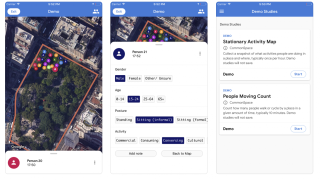Sidewalk Labs launches an app to crowdsource public space surveys