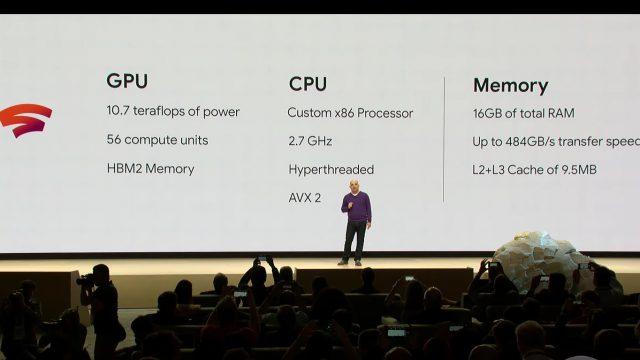 Google scores a custom AMD GPU to power its Stadia cloud gaming hardware