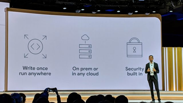 Google's hybrid cloud platform is coming to AWS and Azure