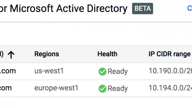 Google Cloud adds a managed service for Microsoft's Active Directory