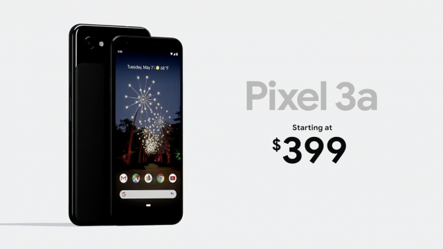 Google's budget Pixel 3a starts at $399, available in 'purple-ish'